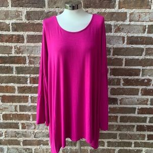 Pink Women's Top/Tunic/Blouse - Kate & Mallory